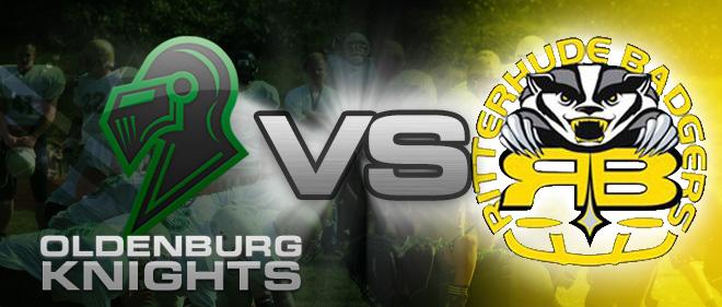 Oldenburg Knights vs Ritterhude Badgers