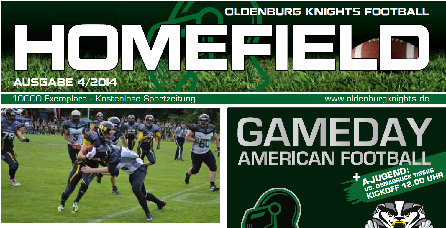 Homefield Spezial – Gameday 21.09.