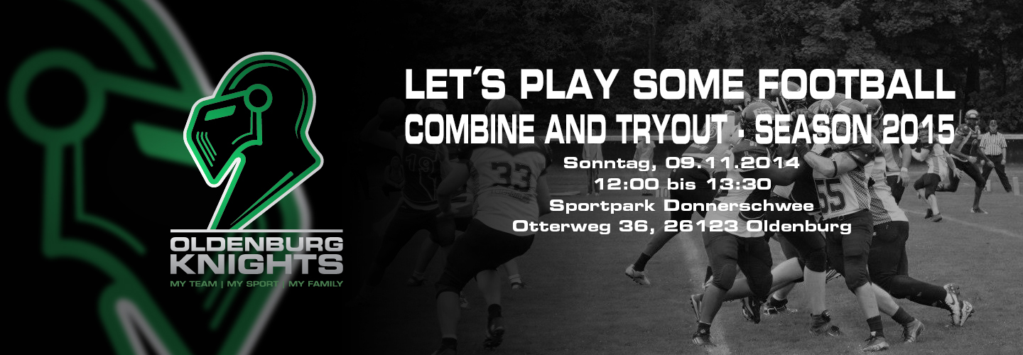 Oldenburg Knights Combine Saison 2015 – Tryout