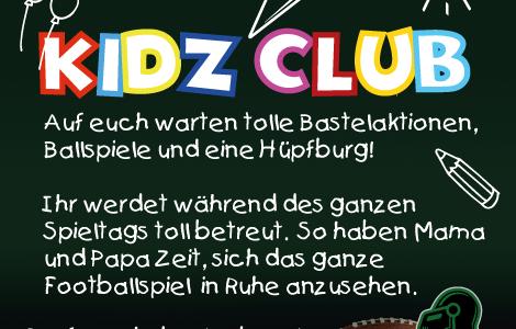 Wir starten am 30.04. den Kidz Club