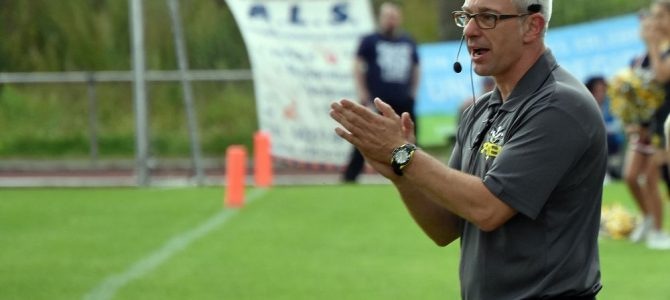 Marcus Meckes coacht die Oldenburger O-Line