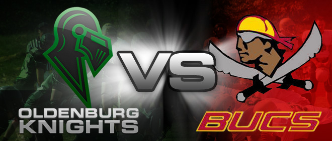 1. Heimspiel Oldenburg Knights vs Jade Bay Buccaneers