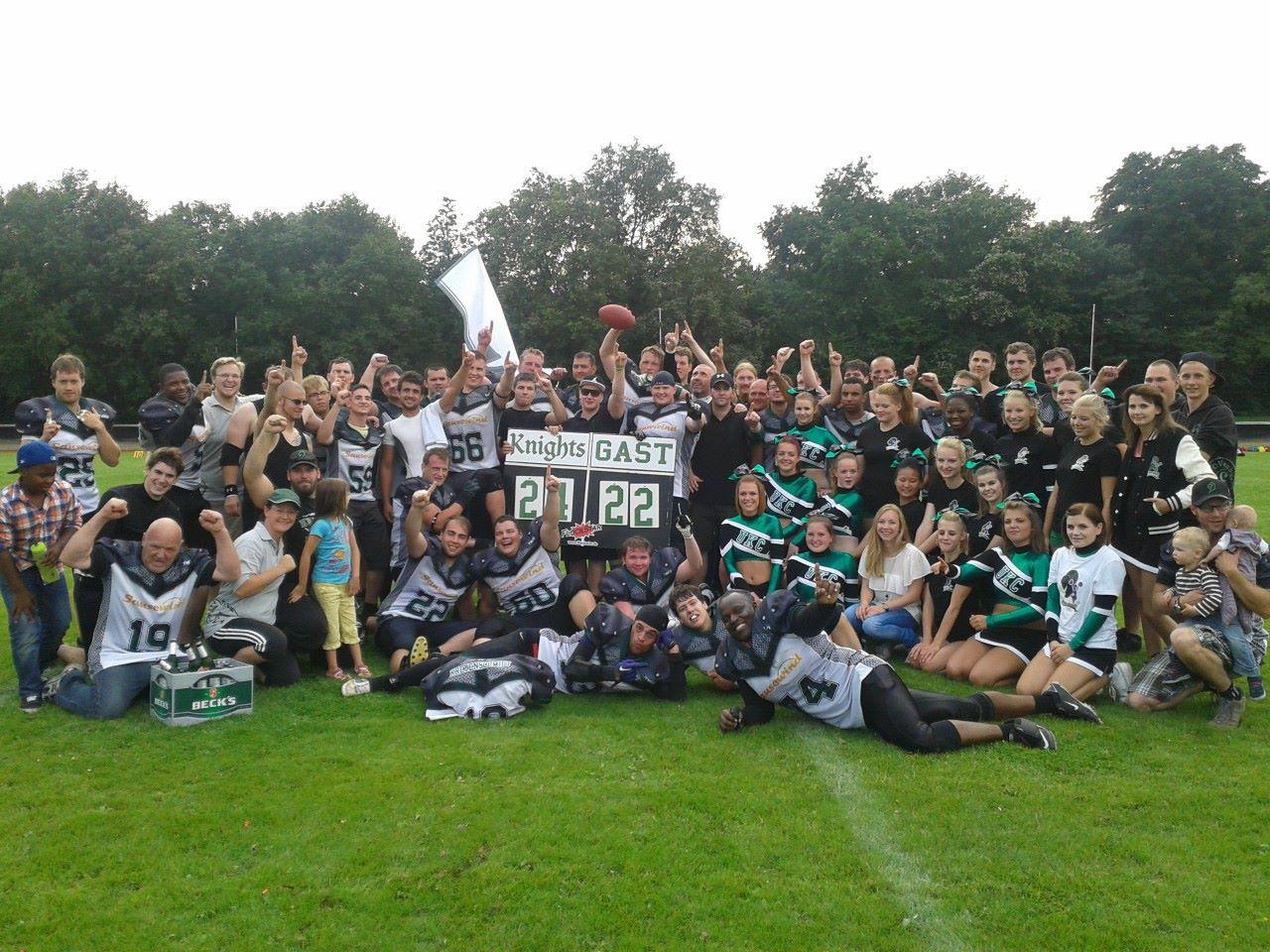 Knights sichern sich vorzeitig die Meisterschaft in der Oberligagruppe West