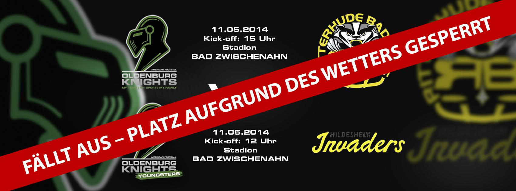 Saison-Start 2014 verschoben!