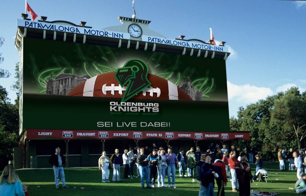 1. American-Football-Volksfest  Gewinnspiel