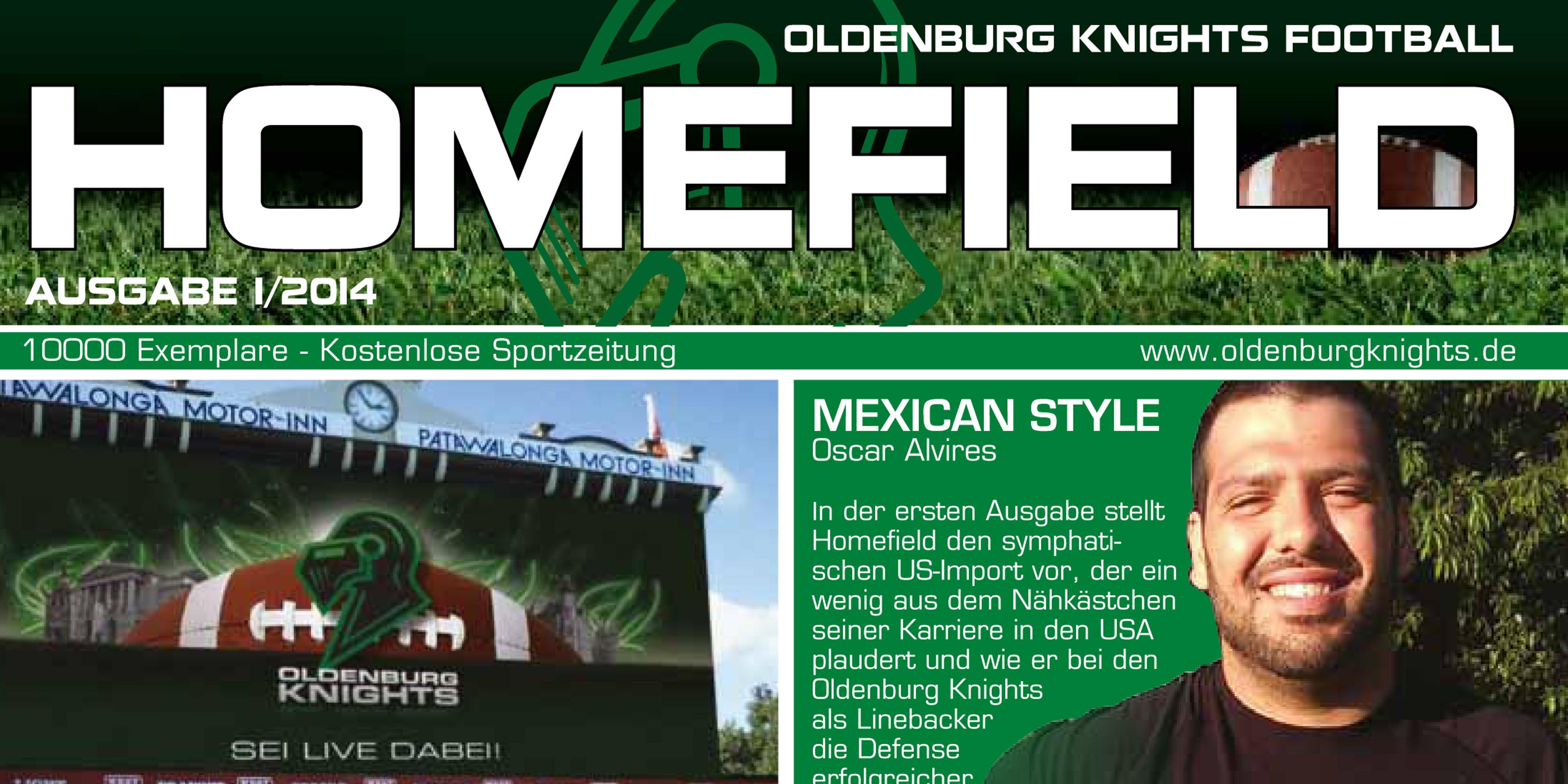 Ausgabe Knights Homefield 01/2014