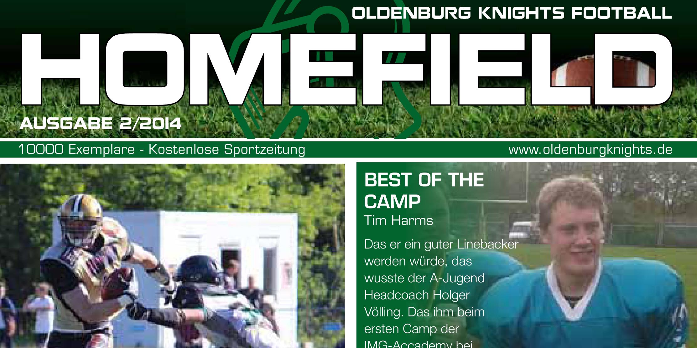 Ausgabe Knights Homefield 02/2014