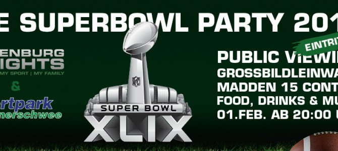 Die Superbowl Party 2015 in Oldenburg