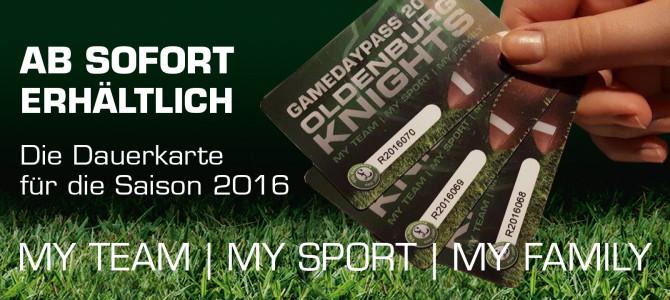 Der Gameday Pass 2016