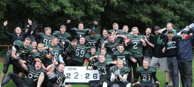Beste Saison mit Sieg in Kiel beendet