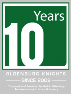 10 Jahre Oldenburg Knights Football