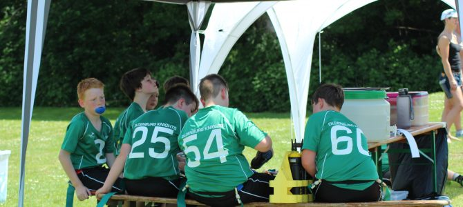 Knights Junior Flag beenden Sommerpause