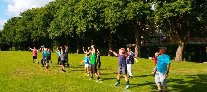 Die Junior Flag Abteilung verabschiedet sich in die Sommerpause
