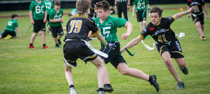 "Flag Football die ""sanfte"" Variante des American Football"