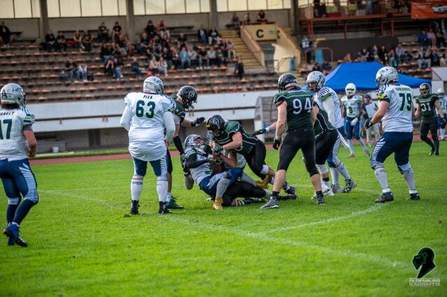 Knights knacken Seahawks Catenaccio